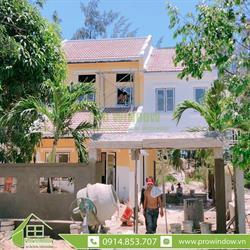 Cửa nhôm Xingfa HomeStay Nguyễn Phan Vinh, Hội An
