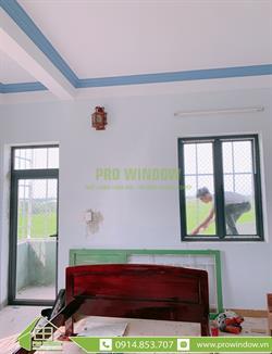 Cửa nhôm Wisdom Quảng Nam, Công trình nhà chú Duyên, Hà Lam, Thăng Bình, Quảng Nam