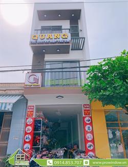 Cửa nhôm Xingfa Quảng Nam, Công trình anh Phúc - chị Thủy, Tiểu La, thị trấn Hà Lam, Thăng Bình, Quảng Nam