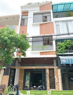 Công trình Cửa nhôm xingfa nhà chị Thuận, Phần Lăng 14, Đà Nẵng