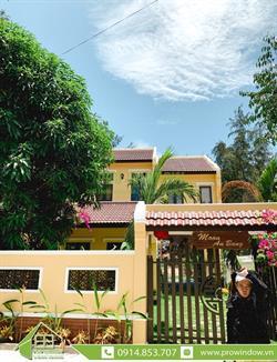 Công trình cửa nhôm Xingfa Moon Villa, An Bàng, Hội An
