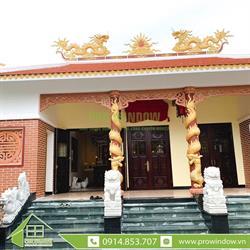 Công trình cửa nhôm Wisdom Nhà thờ gia tộc, Trần Huy Liệu, Cẩm Lệ, Đà Nẵng