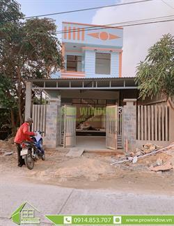 Cửa nhôm Wisdom công trình nhà anh Tuấn, Duy Nghĩa, Duy Xuyên, Quảng Nam