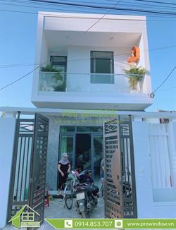 Cửa nhôm Wisdom Nhà anh Thành - Nam cao nối dài, Liên Chiểu, Đà Nẵng