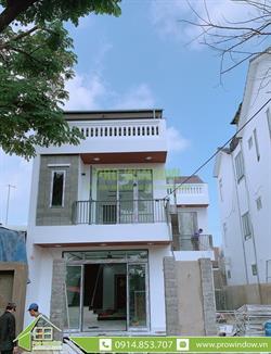 Cửa nhôm Xingfa nhà anh Tấn, Huỳnh Thúc Kháng, TP Hội An