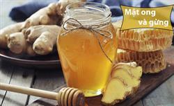 Tác dụng mật ong gừng ?