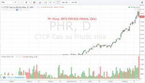 Lịch sử tư vấn VIP cổ phiếu PHR - Ngày 22.03.2019
