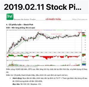 Lịch sử tư vấn VIP cổ phiếu D2D - Ngày 06.05.2019