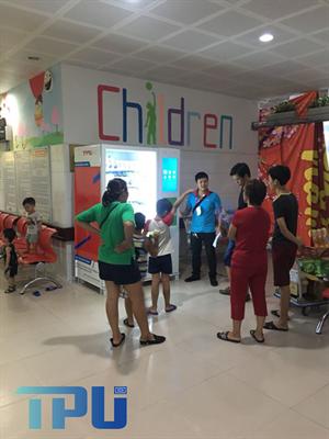 Máy bán hàng tự động TPU tại bệnh viện nhi Bắc Ninh