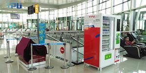 Máy bán hàng tự động TPU tại sân bay Quy Nhơn