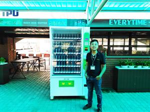 Máy bán nước tự động TPU tại chùa Tam Chúc- Hà Nam