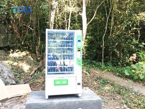 Máy bán hàng tự động TPU- G8003 tại vườn quốc gia Cát Bà – Hải Phòng