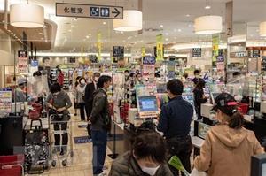 Máy bán hàng tự động giúp khắc phục bất tiện trong việc xét nghiệm ở Nhật Bản