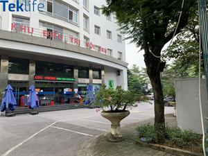 Lắp đặt máy bán hàng tự động Teklife tại bệnh viện Nội tiết Trung ương cơ sở 2 ngay sau khi hết giãn cách