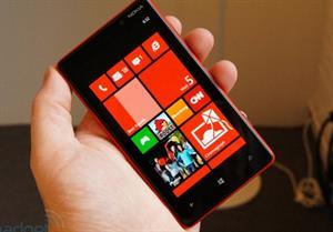Ảnh thực tế Nokia Lumia 820 đa màu sắc