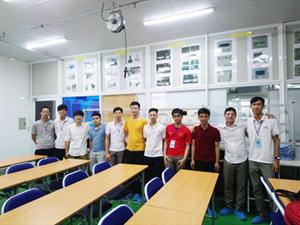 Tpa kết hợp với trường Bách Khoa Hà nội đào tạo lớp truyền thông cclink cho Sam sung