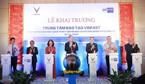"""TPA Tham dự buổi LẾ KHAI TRƯƠNG """"Trung tâm Đào tạo Vinfast"""""""