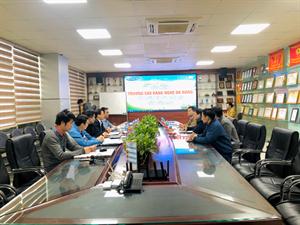 TPA đón tiếp trường cao đẳng nghề Đà Nẵng đến thăm quan và làm việc tại tòa nhà Tân Phát