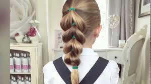 Hướng dẫn kiểu tóc đẹp cho bé gái đến trường 1