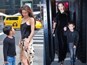 4 cặp mẹ con ăn mặc đồng điệu và quá đỗi thời thượng của showbiz Việt