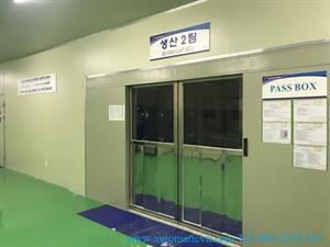 Hoàn thiện bàn giao cửa tự động tại nhà máy KCN Quế Võ