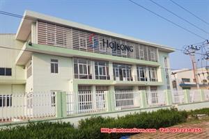 Lắp cửa tự động nhà máy Hojeong KCN Đại Đồng
