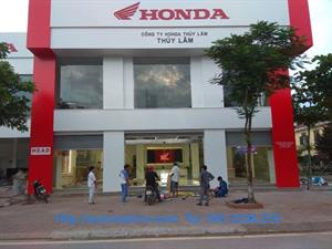 Lắp đặt cửa kính tự động Honda tại Quảng Ninh