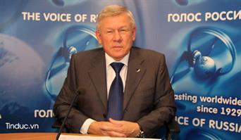 Anatoly Perminov: GLONASS phục vụ mục đích bảo đảm an ninh
