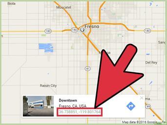 Cách xác định vị trí theo tọa độ trên google map