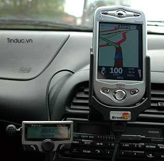 Thiết bị định vị GPS cần thiết cho ôtô