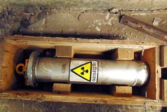 TP HCM khẩn cấp gắn định vị trên thiết bị phóng xạ