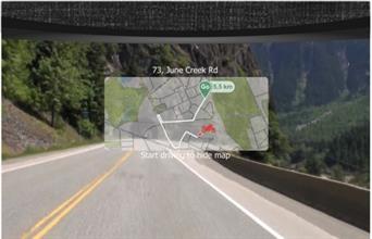 Mũ bảo hiểm sẽ tích hợp GPS và Android giống Google Glass?