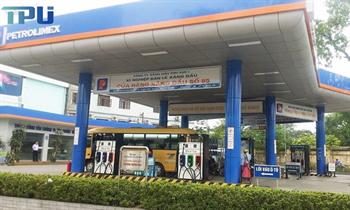 Máy bán hàng tự động tại cửa hàng xăng dầu số 85 – Long biên –Hà Nội