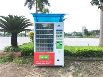 Cà Mau xuất hiện máy bán hàng tự động TPU