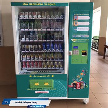 Máy bán hàng tự động Teklife Vending có mặt tại Phú Thọ