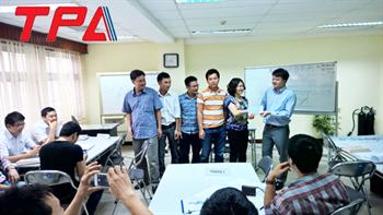 Thành viên TPA tham dự đào tạo Kaizen