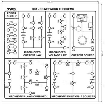 Module thí nghiệm các định lý về mạng DC 1 - TPAD.Q0311