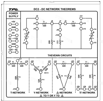 Module thí nghiệm các định lý về mạng DC 2 -TPAD.Q0312