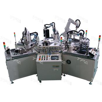 TPA cung cấp hệ thống robot lắp ráp bóng đèn tự động ứng dụng trong đào tạo