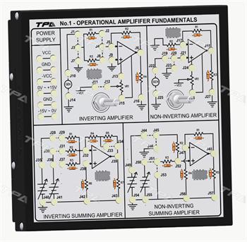Module thí nghiệm cơ bản về khuếch đại thuật toán 1 - TPAD.Q1211