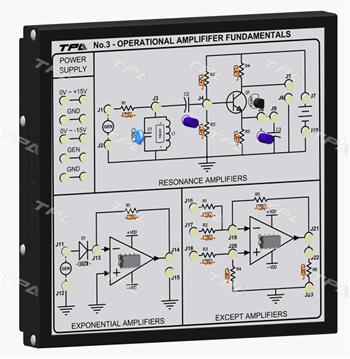 Module thí nghiệm cơ bản về khuếch đại thuật toán 3 - TPAD.Q1213