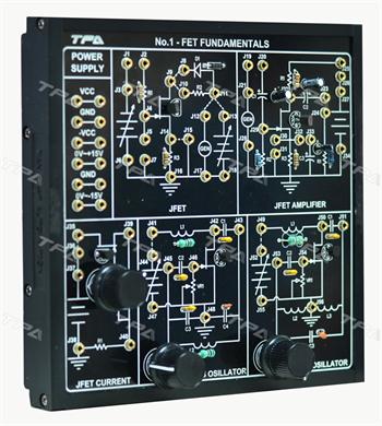 Module thí nghiệm cơ bản transistor FET 1 - TPAD.Q1711