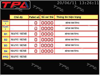 Một số lỗi cơ bản trong quá trình vận hành và cách khắc phục của hệ thống bãi đỗ xe tự động