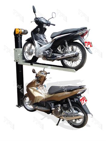 TPA cung cấp giải pháp Hệ thống đỗ xe máy 2 tầng giúp giải quyết tình trạng thiếu hụt địa điểm đỗ xe