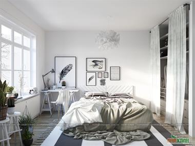 Thiết kế nội thất chung cư Park Hill - Nội thất mang phong cách Scandinavia