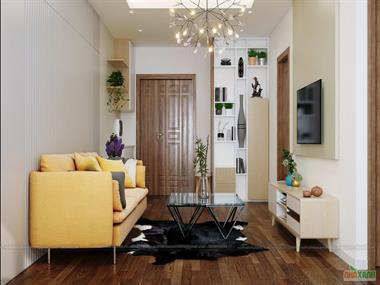 Thiết kế nội thất chung cư Imperia Garden căn 70,7m2 anh Lợi - nội thất Nhà Xanh