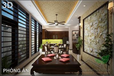 Thiết kế và thi công nội thất biệt thự KDT Việt Hưng