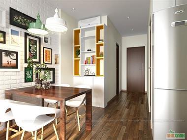 Thiết kế nội thất chung cư Golden west