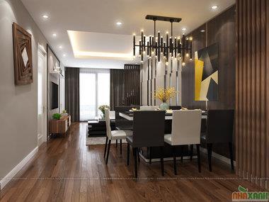 Thiết kế nội thất chung cư Imperia Garden - căn xx11 108m2 tòa D