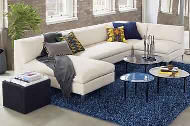 Sofa căn hộ màu ghi